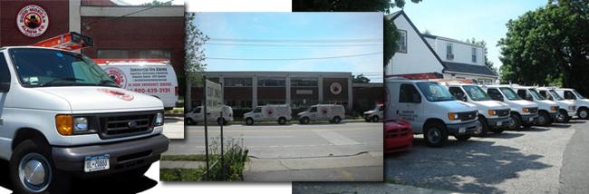 Budd Morgan vans, facilities and headquarters