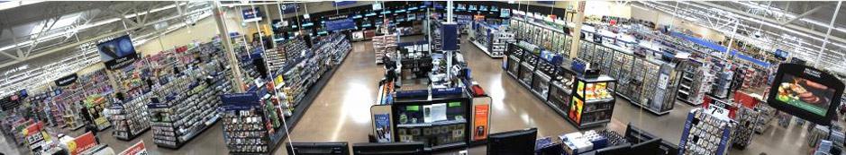 Wide angle CCTV SURVEILLANCE Security camera footage