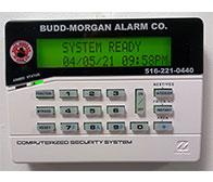 Budd Morgan Alarm Panel